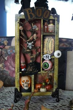 My Halloween Configurations Box that I created