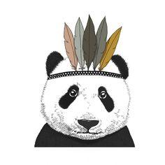 <p>Affiche Panda chef indien, format vertical, design Minimel, impression de qualité parchemin 200g, fabrication française. A accrocher sur son mur pour une ambiance cosy et à compléter avec l'autre affiche de panda horizontale ! On aime ce graphisme de panda en chef indien !</p> <p><em><br /></em></p>