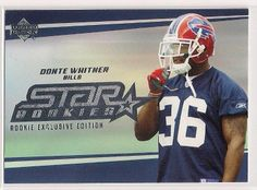 2006 Upper Deck Star Rookies Donte Whitner Rookie exclusive edition card # 226 #BuffaloBills