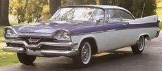 1957 Dodge - The two-tones were always a head turner !