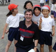 Spending the day at a Japanese elementary school - 2007