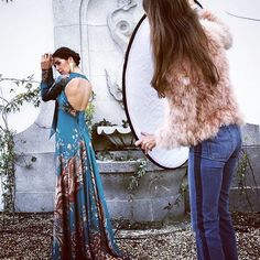 Behind the scenes SS2016  #shooting #24fab #fashion @adrianaiglesiaseu #dress #gorgeous #back by 24fab