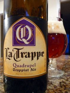 la trappe quadrupel - a fav. the only trappist brewery outside of belgium. and made in my motherland- the netherlands! go my dutchy peoples! Premium Beer, The Monks, Root Beer, Belle Photo, Bourbon, Brewery, Beer Bottle, Netherlands, Beer
