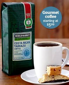 World Market: FREE Birthday Surprise + Earn FREE Coffee!