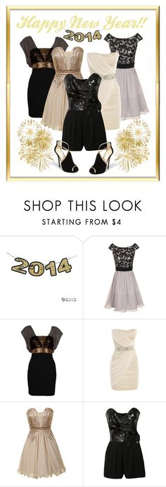 """""""Happy New Year!"""" by faleur102 ❤ liked on Polyvore featuring Little Mistress, AX Paris, Dorothy Perkins, Lipsy, Jimmy Choo, NewYears, 2014, newyear and newyearscelebration"""
