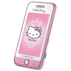 Hello Kitty Phones - Hello Kitty Samsung S5230 ❤ liked on Polyvore featuring hello kitty, electronics, phones and technology