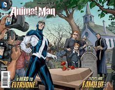 ANIMAL MAN #19 Gatefold Cover Shows Buddy Baker Dealing With Another Tragedy