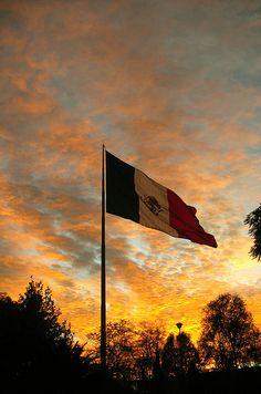 mexico city sunset