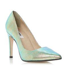 DUNE LADIES AONDA - High Heel Pointed Toe Court Shoe - multi   Dune Shoes Online