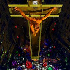 Jesus Christ Cross #dali #katieglantz #art #artist #digitalgraffiti #graphicdesign