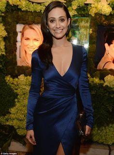 Emmy Rossum - love the dress
