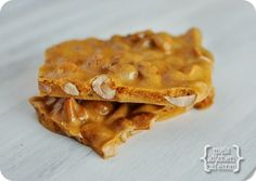 melskitchencafe.com: Microwave Peanut Brittle. Quick and easy. I need to go buy some dry roasted peanuts now.