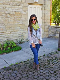 scarf + sweater + boots