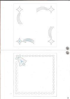 Borduren op papier