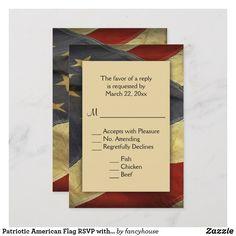 Patriotic American F