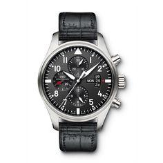 #AceJewelers IWC Pilot's Watch Chronograph