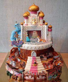 Amazing Aladdin cake