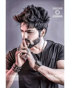 Vname Name Dp For Ramadan Kareem, Latest Arabic Boy Islamic Dp, Ramadan Dp For Boy With Name Vname Boys Beard Style, Beard Styles For Boys, New Beard Style, Cool Beard Styles, Photo Pose For Man, Stylish Photo Pose, Cute Boys Images, Cute Couple Pictures, Cute Boy Pic