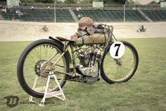 Harley Davidson board track racer