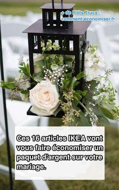 Ces 16 Articles IKEA Vont Vous Faire Économiser un Paquet d'Argent Sur Votre Mariage.