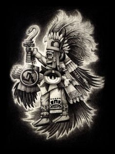 Huitzilopochtli  Fights the night each day so it doesnt stay dark forever