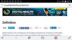 Digital health world congress at london 2016