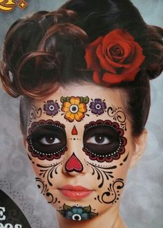 Sugar Skull  Dia de muertos-Mexico, cultura, tradicion - Calavera Catrina Day of the death
