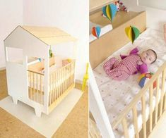 Nina's House accommodates everything that a nursery needs. Combining a crib, playpen, dresser and a changing station ❣ Toddler Rooms, Toddler Bed, Kids Rooms, Crib And Changing Table Combo, Best Crib, Changing Station, Baby Blog, House Doors, Playpen