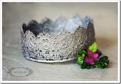 DIY Sweet Lace Crowns