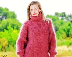Made to order hand knitted sweater unisex by supertanya on Etsy