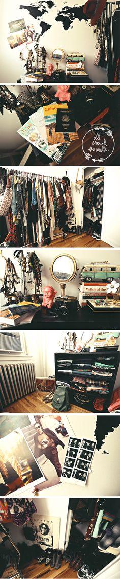 Take a tour of #BloggerBabe Dylana Suarez's closet on the #F21Blog