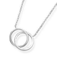 Double Ring Necklace, West Coast Jewelry