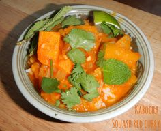 Kabocha Squash Red Curry