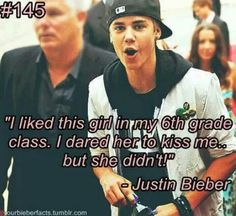 #Bieberfacts, bet she regret that now