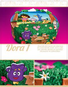 Pastel Dora la Exploradora