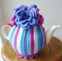 Betty crochet tea cosy cozy