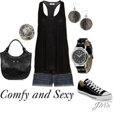 Comfy and Sexy, created by cinnamonbabka41 on Polyvore