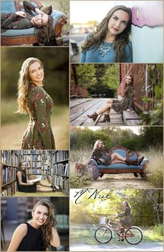 ideas for senior pictures, Dallas photographer, field, books, bike, girls, urban, country