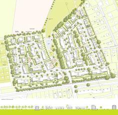 1. Preis: Städtebauliches Konzept