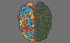 informatica proiezione reale della matematica - cervello emisfero creativo e  logico