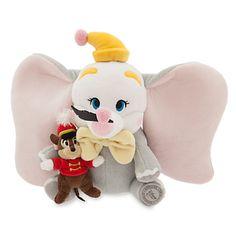 Dumbo and Timothy Mouse Plush Set - Small - 10''