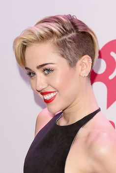 Miley Cyrus | The 18 Greatest Celebrity Pixie Cuts Of The Past Decade