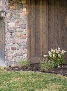 Cottage Exterior, Exterior Siding, Exterior Paint, Rustic Exterior, Log Siding, Cedar Siding, Board And Batton Siding, Barn Wood, Rustic Wood