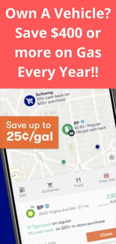 Money Saving Meals, Save Money On Groceries, Frugal Living Tips, Frugal Tips, Ways To Earn Money, Money Tips, Cheap Gas Prices, Gas Buddy, Apps That Pay You