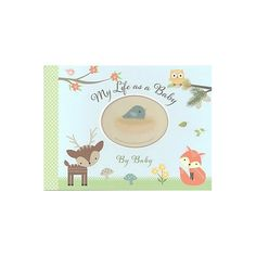 My Life As a Baby - Record Keeper and Photo Album - Woodland Friends (Hardcover) (Virginia Reynolds) : Target