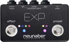 Neunaber ExP Controller for v2 Stereo Pedals at The Guitar Sanctuary McKinney Texas