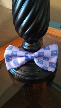 Jw.org Bow Tie by HeartImprints on Etsy