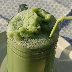 Healthy Vegan Shamrock Shake Redo
