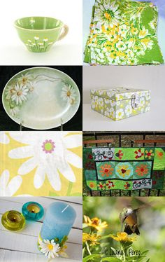 Lazy Daisy Days of Summer by Sandra on Etsy--Pinned with TreasuryPin.com