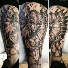 valkyrie tattoo - Google Search
